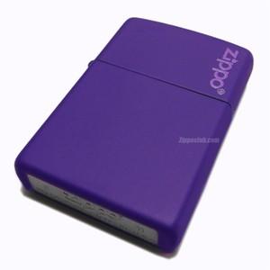 パープルマットZIPPOロゴ入り / Purple Matte with Zippo Logo