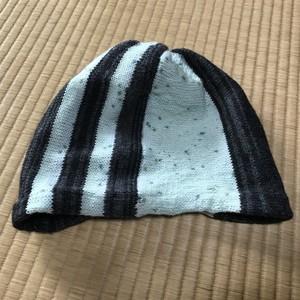 SHINZOU hand knit 暗闇で光る帽子 002