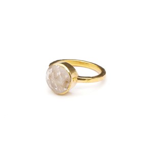 SINGLE STONE NON-ADJUSTABLE RING 025
