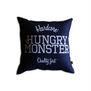 HUNGRY MONSTER Logo Cushion #D