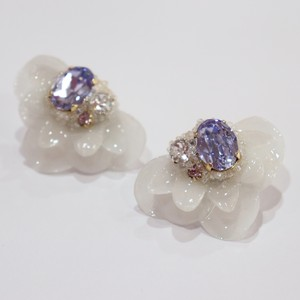 【ピアス.7】phantomFLOWER crystal