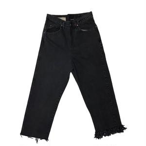 (77circa) circa make fringe denim pants