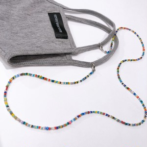 【iishah】Beads Mask necklace