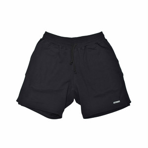 EXTRALESS Extraless Logo Type Shorts Black EX19SS0008