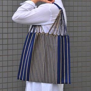 メキシコ織物バッグ(ストライプ柄)A