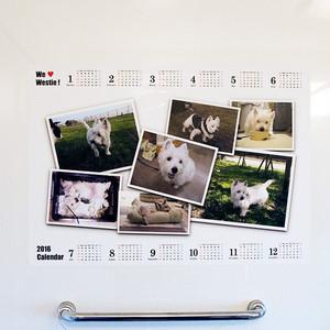 お風呂カレンダー5  組み合わせ自由 2枚セット