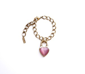 Never End Bracelet Gold/Pink ♯0105 ネバー・エンド ブレスレット ゴールド/ピンク