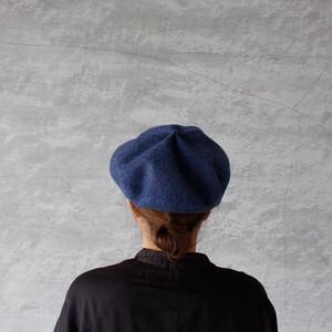 mature ha. beret top gather big bleu(マチュアーハ ベレー トップギャザー ビッグ ブルー)送料無料
