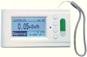ガイガーカウンター, モデル500+ (ベータ線, ガンマ線, X線) ガイガー管2本内蔵, 携帯用放射線検出器, 米国製, 放射線計測