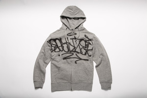LEGALIZE HAND STYLE ZIP UP HOODY