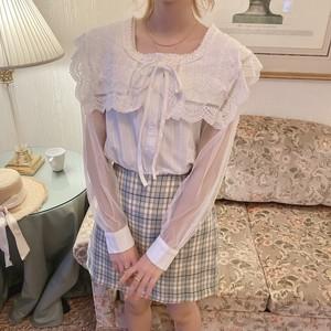 see through sailor blouse