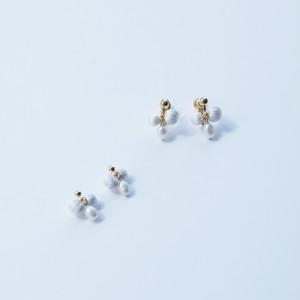 ciito (しいと) mitsubu silk pearl pierce/earring (ピアス・イヤリング) 1色