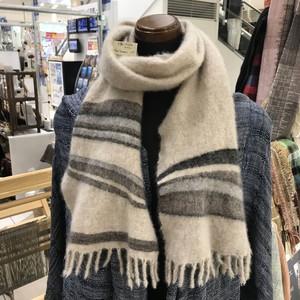 手織りマフラー カシミヤ 0020 handweaving cashmere  scarf