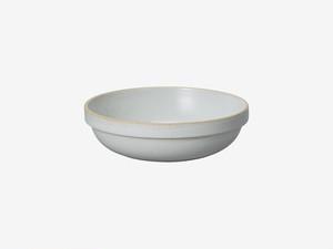 HASAMI PORCELAIN (ハサミポーセリン) Round Bowl (Clear / グレー) 【185x55】HPM032