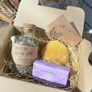 """"""" FNO Lavender Bath time gift set  /  ラベンダーの香りのバスタイム ギフトセット """""""