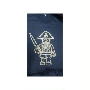 パイレーツ Pirates  イラスト プリント Tシャツ