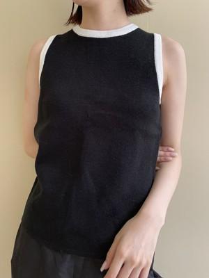 no sleeve knit tops / 7SSTP15-09