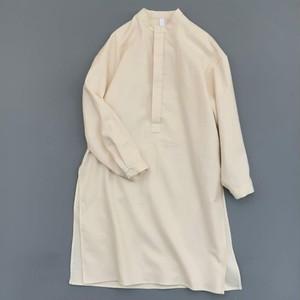 MOUN TEN. 大人サイズ 1  flannel long shirts (ecru) [MT202015-a] MOUNTEN.