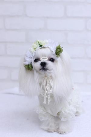 お花の髪飾り(♡˙︶˙♡)