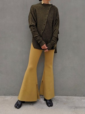 BELL BOTTOMS - MUSTARD