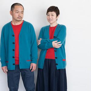 カーディガン・ポケット付き(7G)(サイズ:36・38・40)