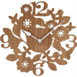 壁掛け時計 フォレスト ナチュラル/ブラウン2色展開