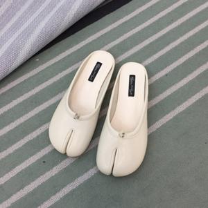 足袋サンダル ミュール かかとなし ぺたんこ 履きやすい 個性的 人気 韓国