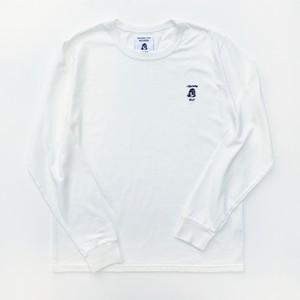 TACOMA FUJI HANDWRITING LOGO embroidery ロングスリーブシャツ