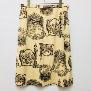 rococo print skirt