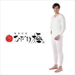 【送料無料】健繊(KENSEN) 健康肌着 ひだまり 極 紳士用