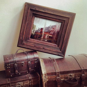 MARBLING CITY(Photo)+ ATSUAGE(Frame)