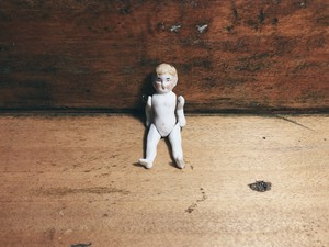 FRANCE antique bisque doll