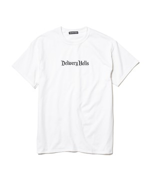 """Delivery Hells"" Tee  WHITE  19AW-DH-23"