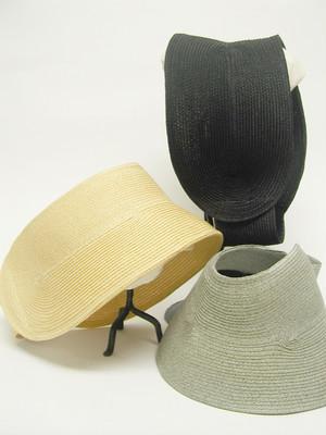 Pole Pole 18118 Paper-braid Sun-visor ペーパーブレード サンバイザー