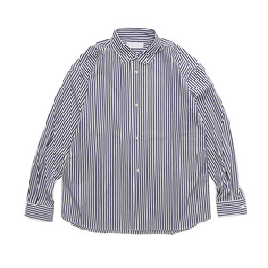 SO ORIGINAL ROUND COLLAR SH FABRICK BY THOMAS MASON(STRIPE)