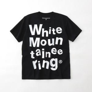PIECE WM LOGO PRINTED T-SHIRT- BLACK