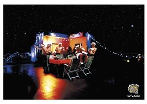 《江頭2:50ポストカード》CE-CK2/ クリスマスカード2