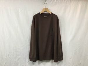 "UNIVERSALS PRODUCTS.""HEAVY WEIGHT L/S TEE BROWN"""