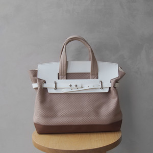CaBas N°55 1Day tripper mini  +shoulder strap PinkBeige/Brown