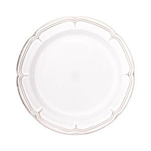 Koyo ラフィネ リムプレート 皿 23.5cm スモークホワイト 15910104