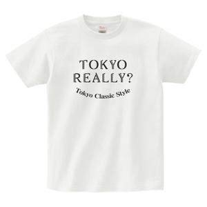 東京リアリースマイルTシャツ(white)