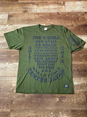 THE☆BIBLE Tshirt  ARMY Green
