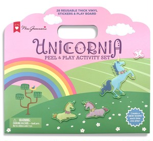 UNICORNIA PEEL & PLAY ACTIVITY SET