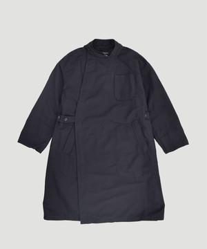 Engineered Garments EG MG Coat Cotton Double Cloth Black FG268