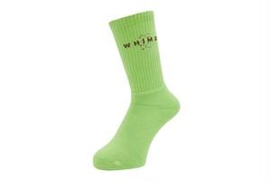 WHIMSY / SIXSTAR SOCKS -GREEN TEA-