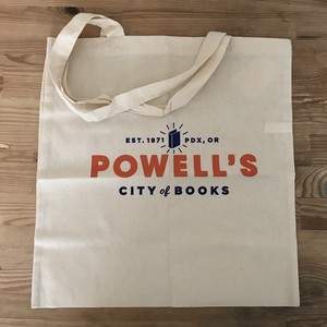 POWELL'S CITY OF BOOKS コットンバッグ