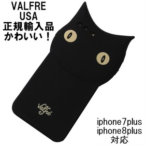 Valfre iphone8plus iphone7plus ケース 黒猫 BRUNO 3D IPHONE CASE