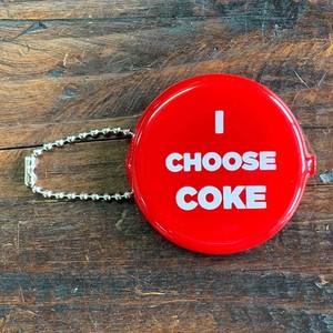 コカコーラ・コインケース・ラウンド・I CHOOSE COKE