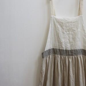 リネン*サロペットスカート