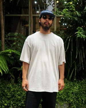 PLAIN CD - CREW NECK T-SHIRT S/S / ASH GRAY